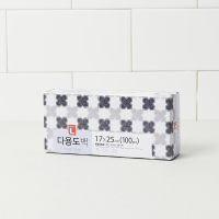 초L 다용도백(소) 17*25*100매