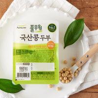 국산콩 찌개두부 210G