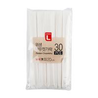 초L 위생 나무젓가락 30P