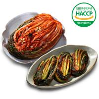 남도의맛 포기김치3kg + 갓김치2kg