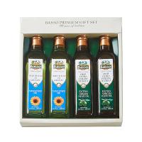 [선물세트] 바쏘 엑스트라버진 올리브유+해바라기유 선물세트 500ML*4