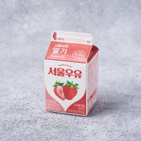 서울 딸기 우유 200ML