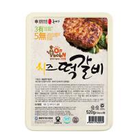 완주 떡갈비 치즈 520g