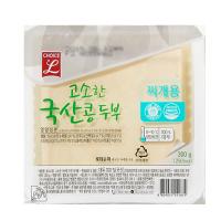 초L)고소한 국산콩 두부(찌개) 300G