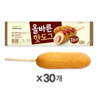 [풀무원] 올바른 핫도그 퀴노아 30입 세트
