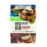 평양물2인+함흥비빔2인 냉면 (1390G)