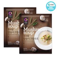 청정원 우리쌀양송이크림수프60g×10개