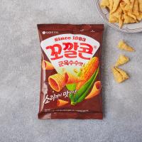 롯데 꼬깔콘 군옥수수맛 (77G)