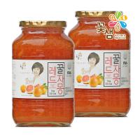[1+1]꽃샘식품 허니레드자몽 1kg+1kg