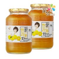 [1+1]꽃샘식품 꿀한라봉차 1kg+1kg