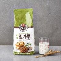 CJ 백설 과자용 밀가루 1kg