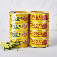 동원 살코기+고추참치 100G*8입