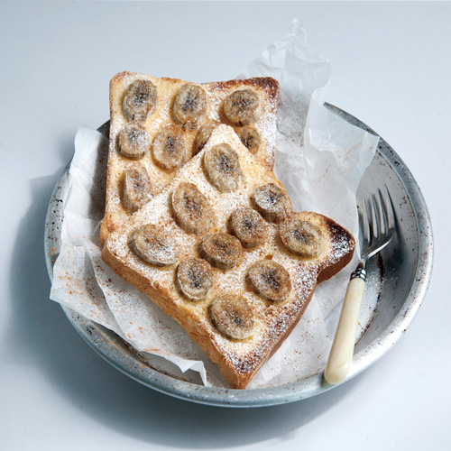 바나나크림치즈토스트